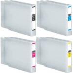 T755BK/C/M/Y Multipack 4 cartucce compatibili con Epson T755