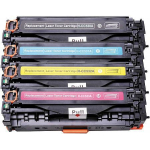 Multipack 304A Toner Compatibili con HP 304A e Canon Cartridge 718