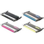 SU382A Multipack Toner Compatibili con Samsung CLT-P4072C/ELS P4072C BK/C/M/Y