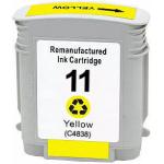 Cartuccia compatibile c4838A HP 11 giallo
