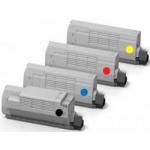Multipack Toner Compatibili per Oki MC853 MC873 BK/C/M/Y