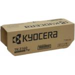 Kyocera 1T02T90NL0 Toner TK-3160 Originale Nero