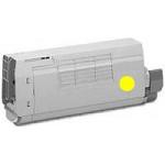 Toner Compatibile con Oki 45862837 Giallo