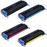 Toner Compatibili con HP Q6000/1/2/3 (serie 124A) e Canon Cartridge 707 Nero Ciano Magenta Giallo.