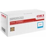 Oki 46490607 Toner Originale Ciano