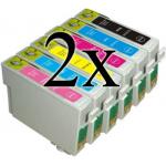 12 Cartucce COMPATIBILI con Epson serie Colibrì