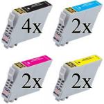 603 XL Multipack 10 cartucce compatibili con Epson serie Stella Marina