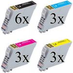 603 XL Multipack 15 cartucce compatibili con Epson serie Stella Marina