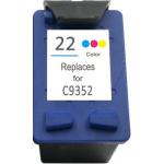 Cartuccia HP C9352 (N°22) Rigenerata Colori 15ml