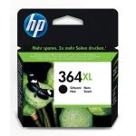 HP 364 XL BK Cartuccia Originale con HP CN684EE Alta Capacità Nero