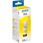 Inchiostro Giallo Originale Epson C13T00P440 EcoTank 104