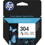 Cartuccia Originale HP 304 N9K05AE Colori