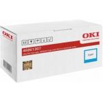 Cartuccia toner alta capacità ciano originale Oki 46861307