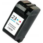 Rigenerata HP C1823 (n.23) cartuccia ink-jet Colori