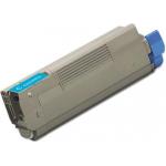 Toner Compatibile per Oki C5100 C5200 C5250 C5300 C5400 C5450 C5510MFP CIANO (3151C)