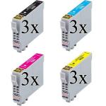 12 Cartucce Compatibili T0441-442-443-444 (3x colore)