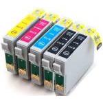5 Cartucce COMPATIBILI con Epson 16XL (T1631/2/3/4) ALTA CAPACITA' 2 nero + 1x c/m/y