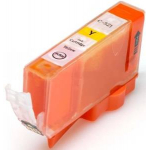 Cartuccia compatibile con Canon CLI-521Y Giallo con CHIP