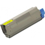Toner Compatibile per Oki C5100 C5200 C5250 C5300 C5400 C5450 C5510MFP GIALLO (3151Y)