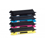 4 Toner COMPATIBILI Brother TN-135 (NERO+CIANO+MAGENTA+GIALLO)
