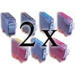 14 Cartucce COMPATIBILI Canon PGI-5 CLI-8