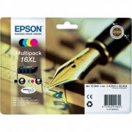 Cartucce Originali Penna e Cruciverba XL Epson T1636 multipack