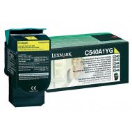 Toner giallo C540A1YG Originale Lexmark