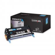 Toner ciano X560A2CG Originale Lexmark