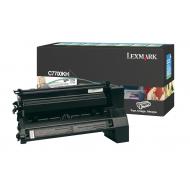 Toner nero C7700KH Originale Lexmark