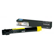 Toner giallo X950X2YG Originale Lexmark