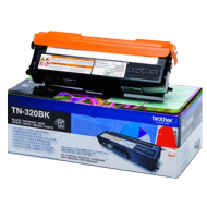 Toner nero TN320BK Originale Brother