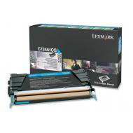 Toner ciano C734A1CG Originale Lexmark