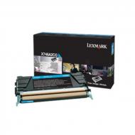 Toner ciano X746A3CG Originale Lexmark