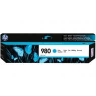 HP 980 D8J07A Cartuccia Originale ciano