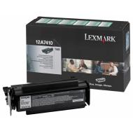 Toner nero 12A7410 Originale Lexmark