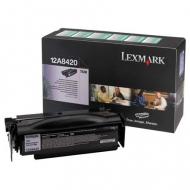 Toner nero 12A8420 Originale Lexmark