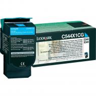 Toner ciano C544X1CG Originale Lexmark