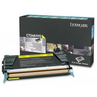 Toner giallo C734A1YG Originale Lexmark