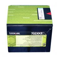 Toner nero 70C2XKE Originale Lexmark