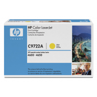 Toner giallo C9722A Originale HP