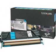 Toner ciano C5240CH Originale Lexmark