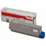 Oki 44318607 Toner Originale Ciano