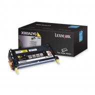 Toner giallo X560A2YG Originale Lexmark