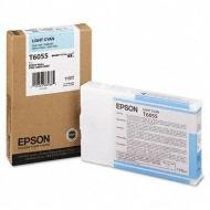 Cartuccia ciano chiaro C13T605500 Originale Epson