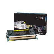 Toner giallo X746A3YG Originale Lexmark