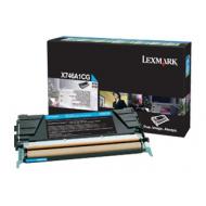 Toner ciano X746A1CG Originale Lexmark