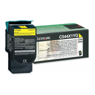 Toner giallo C544X1YG Originale Lexmark