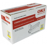Oki 43381721 Tamburo Originale Giallo