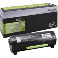 Toner nero 50F2000 Originale Lexmark 502