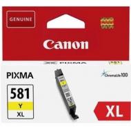 CLI-581XLM CARTUCCIA INCHIOSTRO YELLOW PER PIXMA TS 6150/8150/9150 TR 8550 (8,3ml)